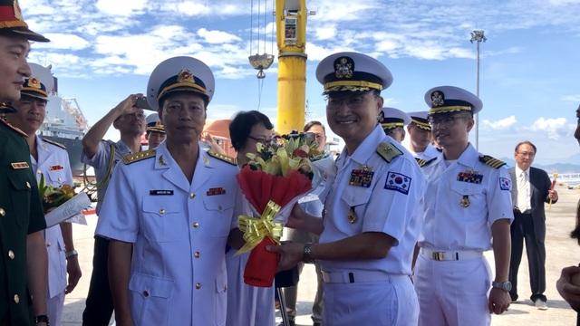 Tàu huấn luyện hải quân Hàn Quốc thăm xã giao Đà Nẵng - 3