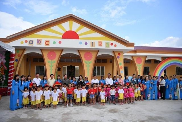 Vĩnh Long: Khánh thành trường mầm non xã phục vụ 192 trẻ nhỏ - 1