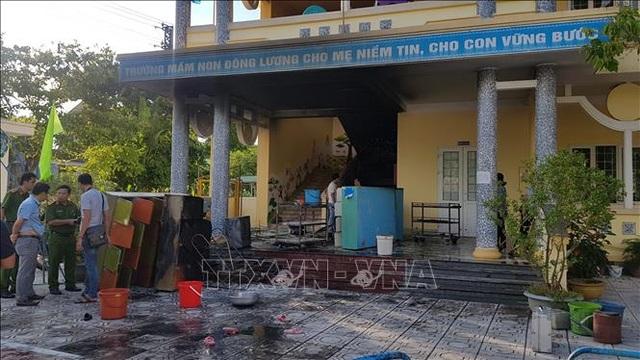 Cháy tại trường mầm non, hơn 100 học sinh được sơ tán an toàn - 1
