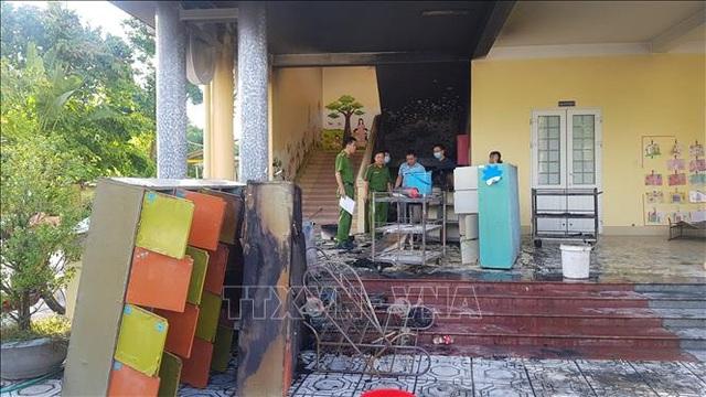 Cháy tại trường mầm non, hơn 100 học sinh được sơ tán an toàn - 2