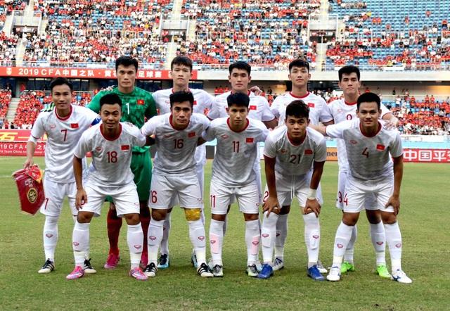 Những khoảnh khắc ấn tượng trong chiến thắng của U22 Việt Nam trước U22 Trung Quốc - 1