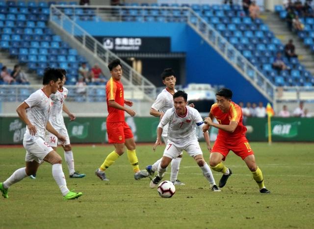 Những khoảnh khắc ấn tượng trong chiến thắng của U22 Việt Nam trước U22 Trung Quốc - 9