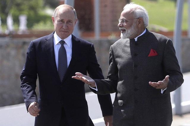 Ấn Độ bắt tay Nga thách thức tầm ảnh hưởng của Trung Quốc tại Biển Đông - 1