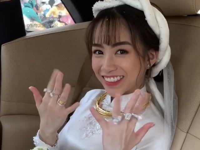Choáng với siêu xe, trang sức kim cương trĩu tay trong đám cưới con đại gia - 6