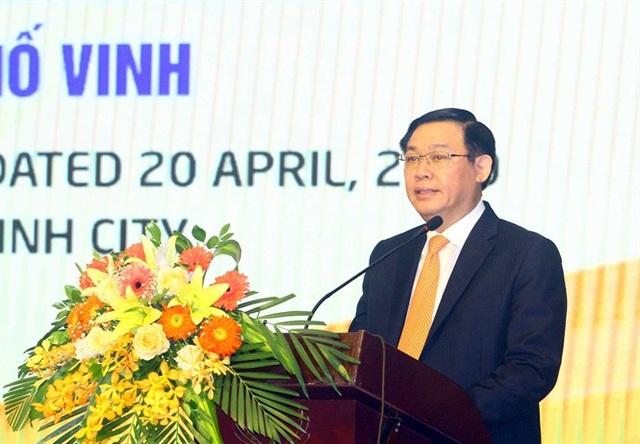 Phó Thủ tướng Vương Đình Huệ chủ trì hội nghị về phát triển thành phố Vinh - 2