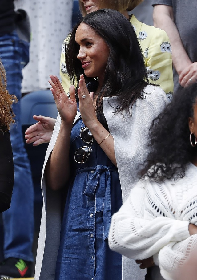 Meghan Markle đi xem Serena Williams thi đấu tennis - 9