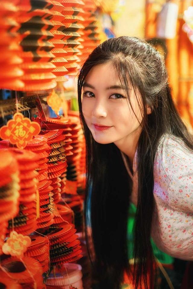 Miss Teen Nam Phương đẹp rạng ngời dạo phố mùa Trung thu - 7