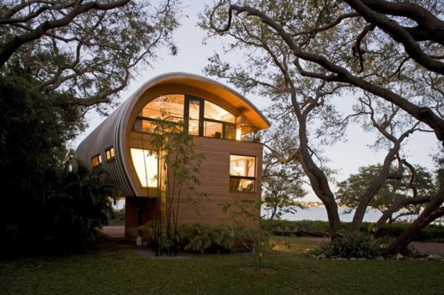 Ngôi nhà lơ lửng giữa rừng cây có view nhìn ra hồ tuyệt đẹp - 3
