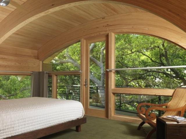 Ngôi nhà lơ lửng giữa rừng cây có view nhìn ra hồ tuyệt đẹp - 6