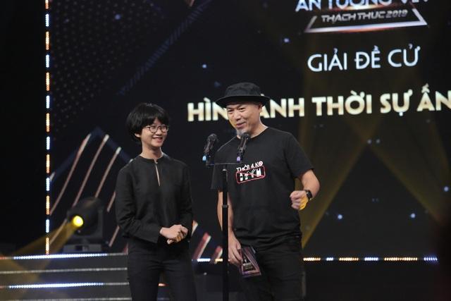 NSND Trung Anh bối rối, Bảo Thanh bật khóc khi nhận giải Diễn viên ấn tượng - 16
