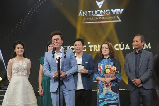 NSND Trung Anh bối rối, Bảo Thanh bật khóc khi nhận giải Diễn viên ấn tượng - 4