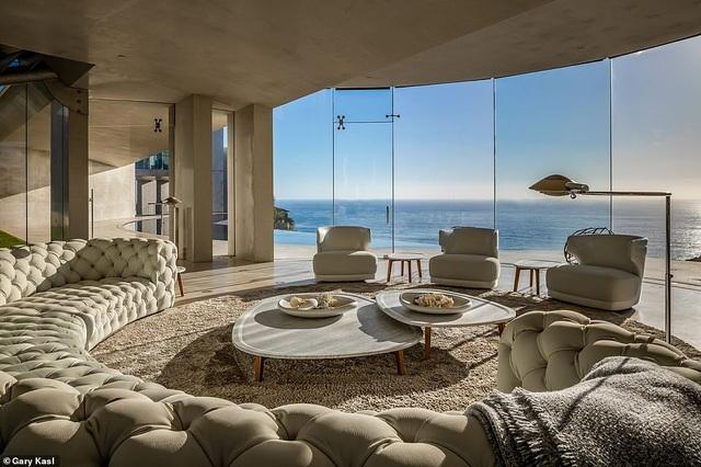 Vẻ đẹp của biệt thự 21 triệu USD nằm bên vách núi trông ra Thái Bình Dương - 26