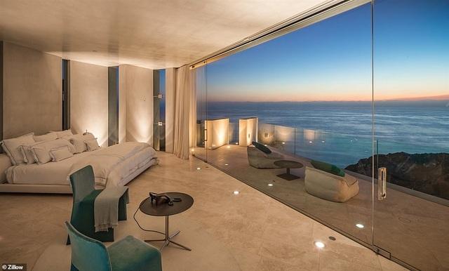 Vẻ đẹp của biệt thự 21 triệu USD nằm bên vách núi trông ra Thái Bình Dương - 6