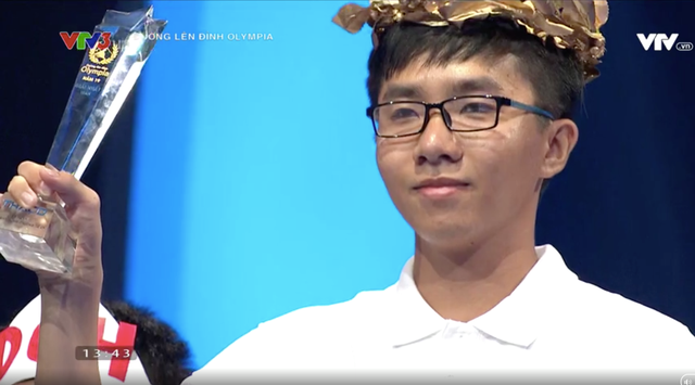 Nguyễn Bá Vinh: Nam sinh Cần Thơ chiếm 3 kỷ lục Olympia 19 - 1