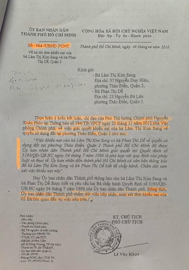 Vụ kiện sau 20 năm lại quay về điểm ban đầu: Phó Thủ tướng yêu cầu chấm dứt xem xét khiếu nại! - 4
