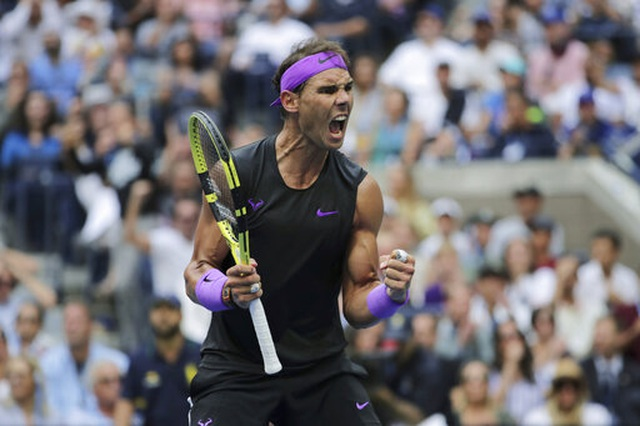 Chung kết US Open 2019: Nadal 2-0 Medvedev