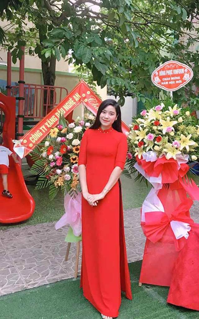 """Cô giáo mầm non xứ Nghệ sở hữu nhan sắc ngọt ngào gây """"sốt"""" mạng - 2"""