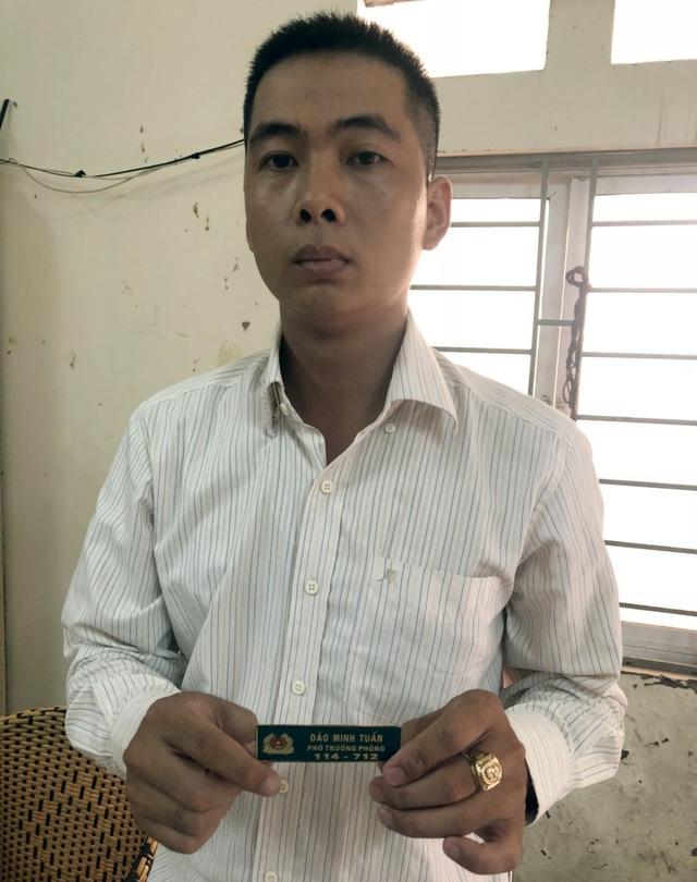 """Hà Nội: Giả danh công an để """"giải cứu"""" người vi phạm giao thông - 1"""
