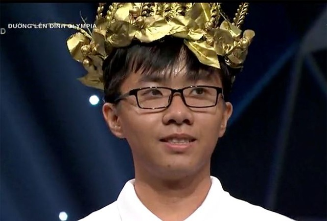 Nguyễn Bá Vinh: Nam sinh Cần Thơ chiếm 3 kỷ lục Olympia 19 - 2