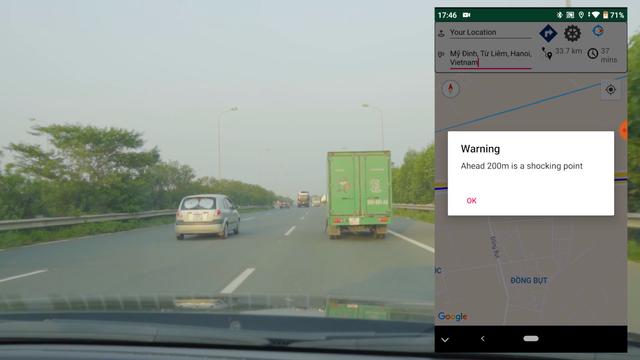 Giảm tai nạn giao thông bằng ứng dụng cảnh báo điểm xóc - 2