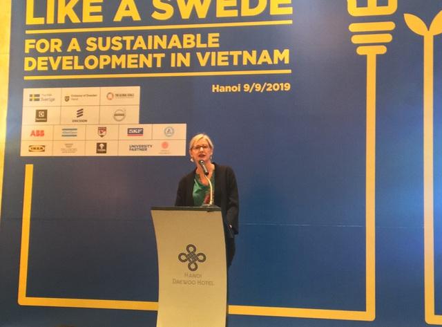"""Truyền cảm hứng """"sáng tạo như người Thụy Điển"""" cho thế hệ trẻ Việt Nam"""