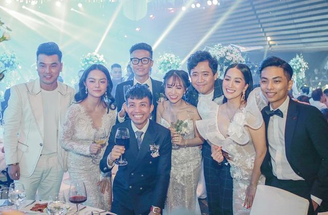 Trấn Thành, Ưng Hoàng Phúc, Tuấn Hưng... hội tụ trong đám cưới con gái Minh Nhựa - 13