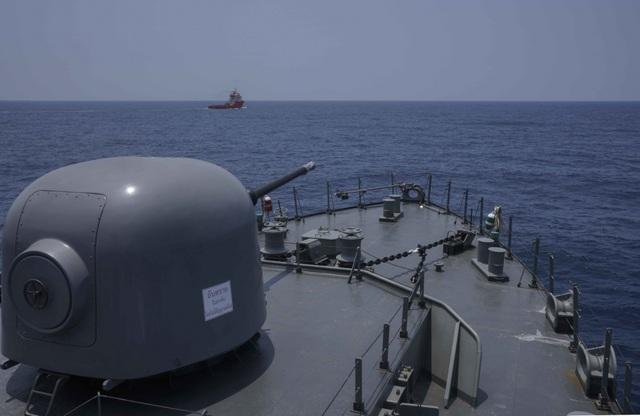 Khoảnh khắc ấn tượng trong cuộc diễn tập hàng hải Mỹ - ASEAN đầu tiên - Ảnh minh hoạ 2