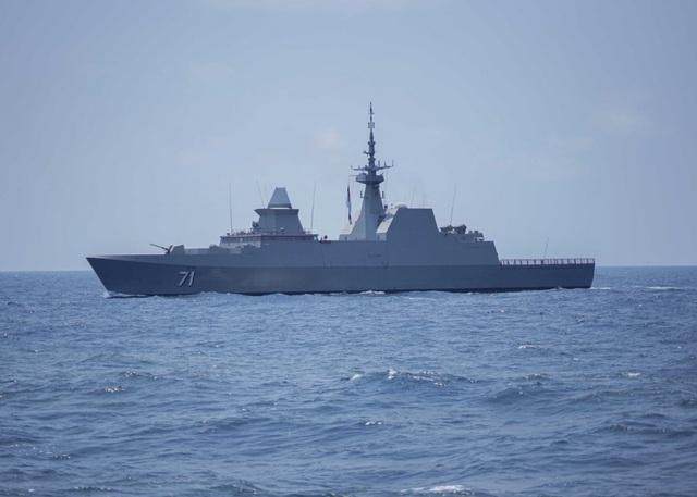Khoảnh khắc ấn tượng trong cuộc diễn tập hàng hải Mỹ - ASEAN đầu tiên - Ảnh minh hoạ 3