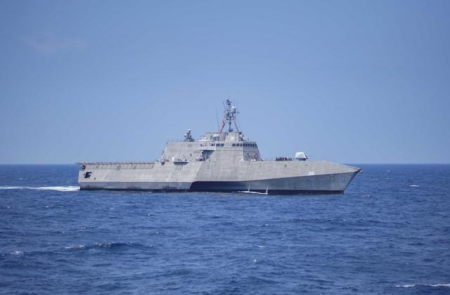 Khoảnh khắc ấn tượng trong cuộc diễn tập hàng hải Mỹ - ASEAN đầu tiên - Ảnh minh hoạ 4