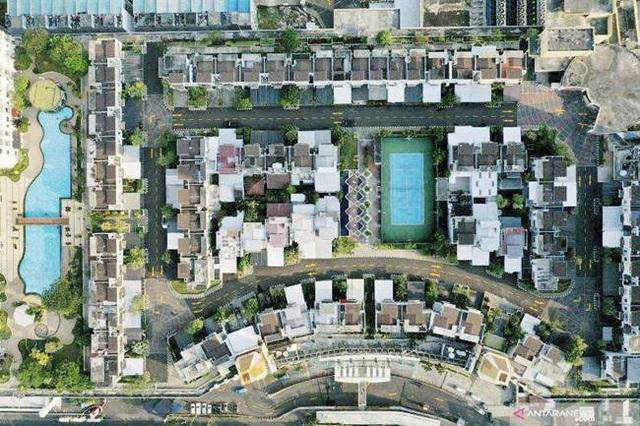 Ngỡ ngàng làng toàn biệt thự hơn 3 tỷ đồng, nhà nào cũng không chạm đất - 5
