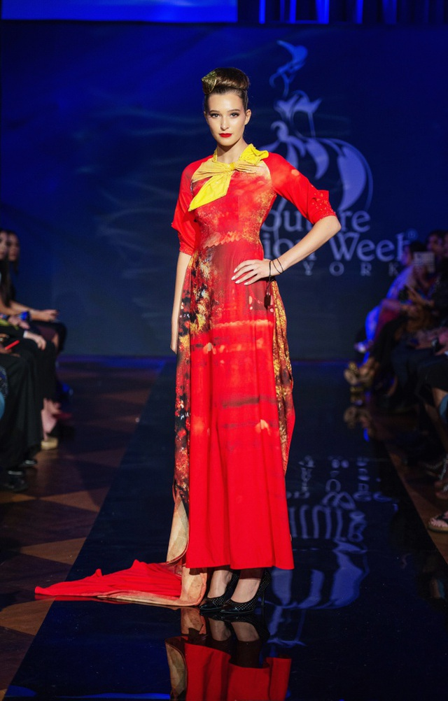 30 chiếc nón dát vàng cùng di sản Việt mở màn New York Couture Fashion Week - 17