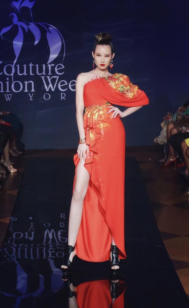30 chiếc nón dát vàng cùng di sản Việt mở màn New York Couture Fashion Week - 15