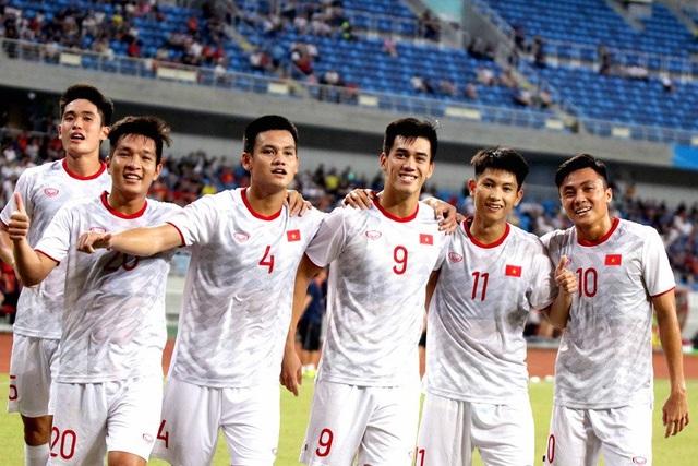Martin Lo được HLV Park Hang Seo triệu tập cho trận đấu với U22 UAE - 1
