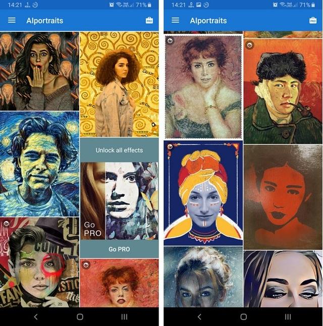 Ứng dụng biến hóa ảnh chụp thành tranh vẽ nghệ thuật gây sốt trên toàn cầu - 1