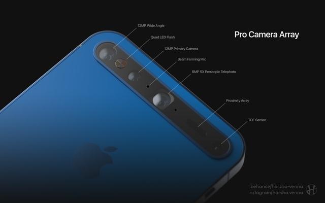 Ý tưởng iPhone 11 đẹp long lanh khiến các Apple fan thèm muốn - Ảnh minh hoạ 4