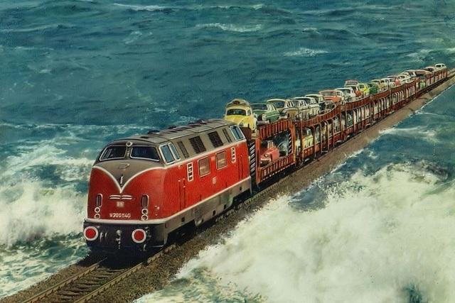 Công trình trên biển vĩ đại: Chuyến tàu hỏa chạy giữa biển khơi - 4