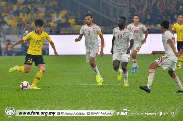 Malaysia 1-2 UAE: Cú đúp của Mabkhout - 11