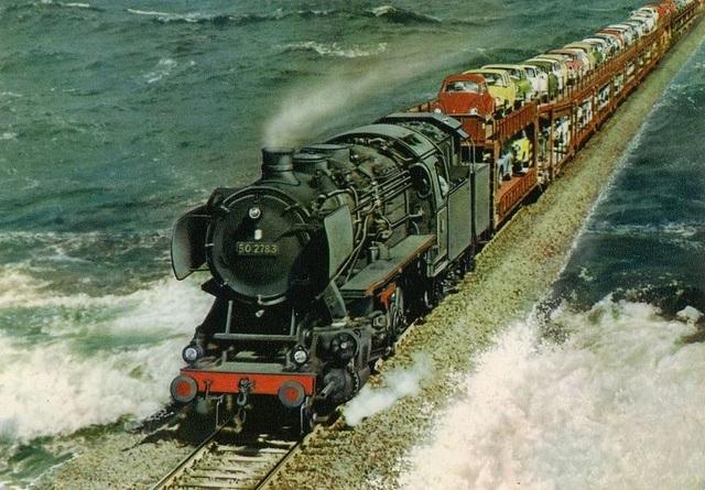 Công trình trên biển vĩ đại: Chuyến tàu hỏa chạy giữa biển khơi - 3