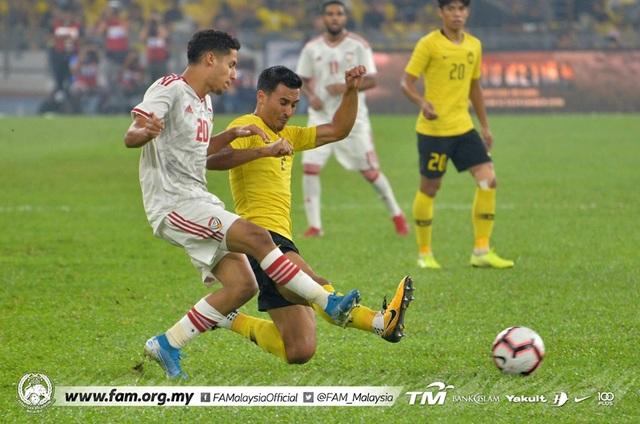Malaysia 1-2 UAE: Cú đúp của Mabkhout - 12