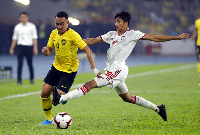 Malaysia 1-2 UAE: Cú đúp của Mabkhout - 15
