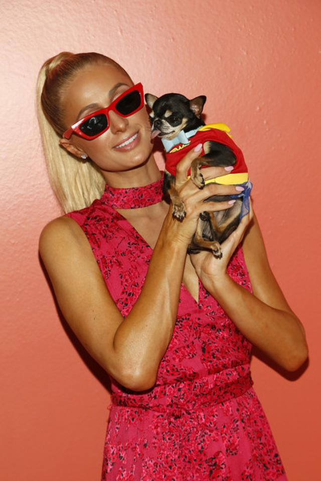 Paris Hilton mặc gợi cảm trình diễn thời trang - 10