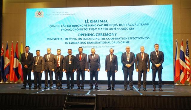 Tuyên bố chung hội nghị cấp Bộ trưởng về hợp tác đấu tranh phòng, chống ma tuý - 1