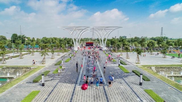 Hàng trăm khách mời và cư dân đến tham dự Lễ Khánh thành Công viên Âm nhạc - 2