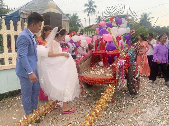 Độc đáo đám cưới rước dâu bằng xe trâu ở Thanh Hóa - 2
