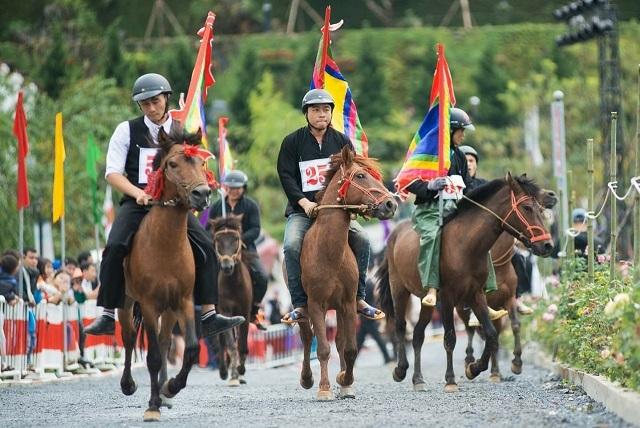 Fansipan đẹp lạ lùng với lung linh pháo hoa và những màn đua ngựa đậm chất Tây Bắc - 2