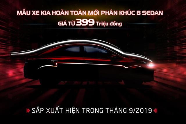 Kia Việt Nam chính thức nhận đặt hàng mẫu B-Sedan hoàn toàn mới, giá chỉ từ 399 triệu đồng - 1