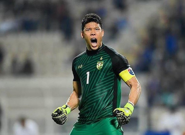 Đội tuyển Thái Lan chọn thủ thành Kawin bắt chính ở trận gặp Indonesia - 1