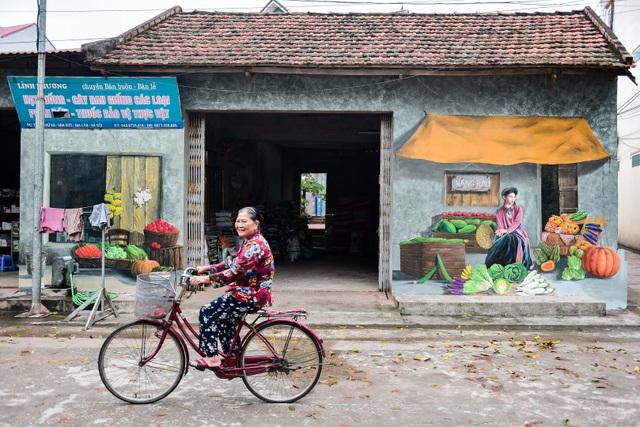 Bích họa lạ lẫm ở làng nông nghiệp ngoại thành Hà Nội  - 4