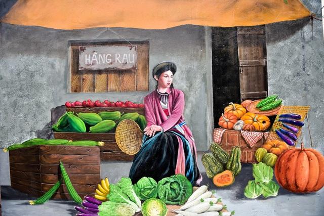 Bích họa lạ lẫm ở làng nông nghiệp ngoại thành Hà Nội  - 5