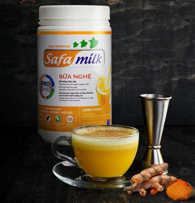 Sữa nghệ Safa Milk thức uống vàng cho sức khoẻ - 2